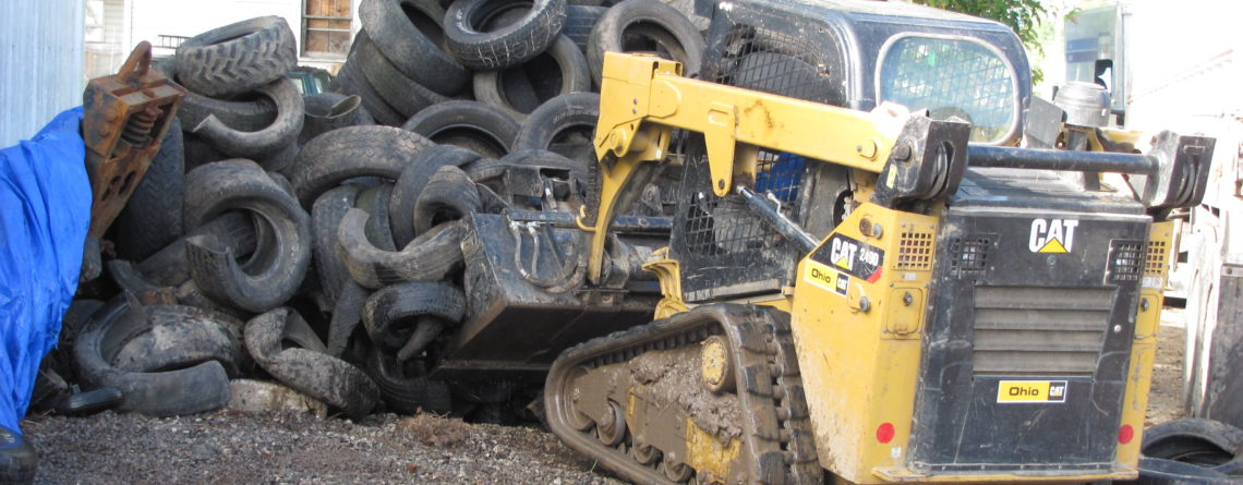 Fayette Township Trustees have been collecting scrap tires